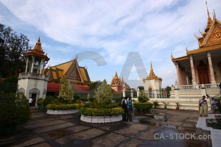 Sky palace wat preah keo southeast asia ubosoth ratanaram.
