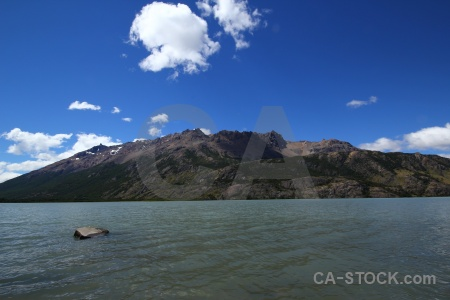 Sky patagonia rock landscape argentina.
