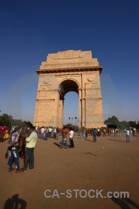 Sky person archway india gate new delhi.