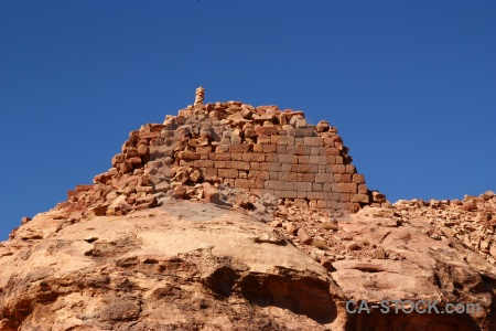 Sky petra carving block nabataeans.