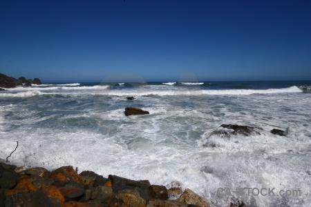 Sky punakaiki sea west coast south island.