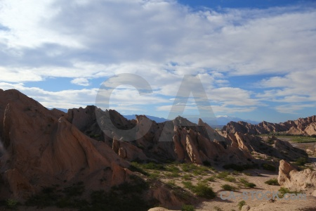 Sky rock calchaqui valley mountain south america.