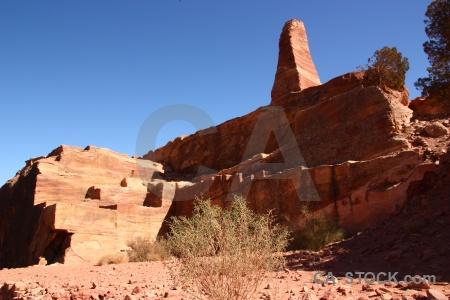 Sky rock carving nabataeans jordan.