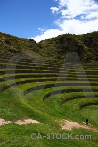 Sky ruin terrace inca moray.