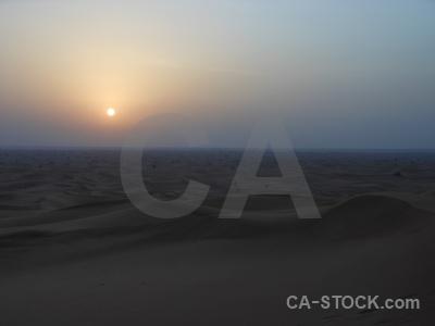 Sky sand dune sunset western asia.