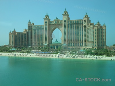 Sky sea asia atlantis the palm.