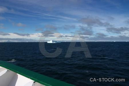 Sky sea bellingshausen cloud antarctica.