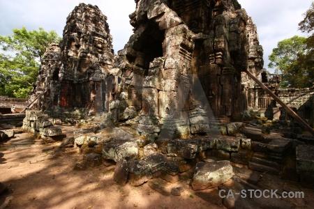 Sky siem reap unesco cambodia stone.