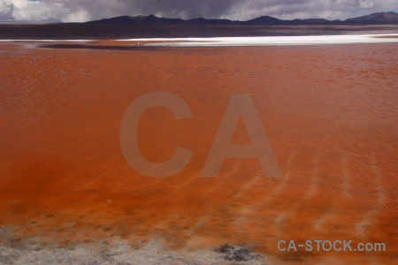 Sky south america andes mountain laguna colorada.