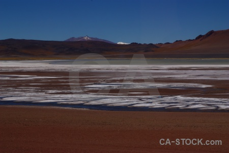 Sky south america atacama desert altitude salt flat.