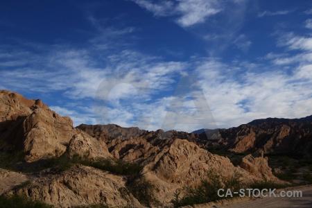 Sky south america mountain quebrada de las flechas rock.