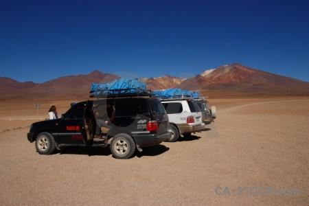 Sky south america mountain vehicle sand.