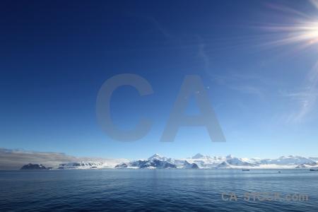 Sky south pole antarctica cruise marguerite bay water.