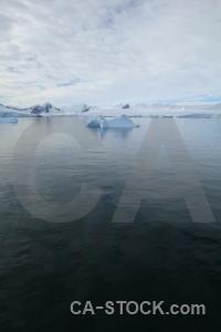 Sky south pole landscape antarctica day 5.