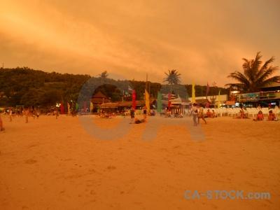 Sky southeast asia phi island thailand loh dalam bay.
