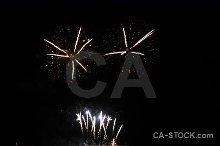 Sky spain firework black javea.