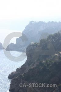 Sky spain water europe cliff.
