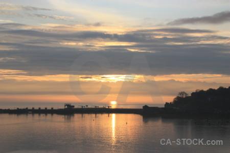 Sky sunset cloud sunrise sun.