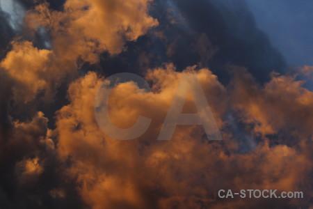 Sky sunset orange europe javea.
