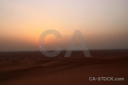 Sky uae sunrise sun desert.