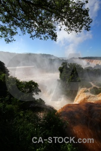Sky unesco cloud south america iguazu falls.