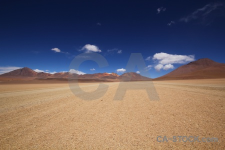 Sky valle de dali altitude south america bolivia.