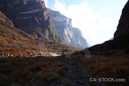 Sky valley south asia trek himalayan.