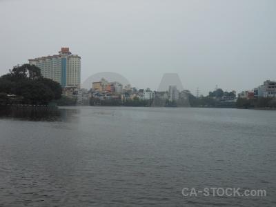 Sky water lake vietnam asia.