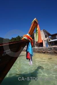 Sky water thailand ruea hang yao long tail.