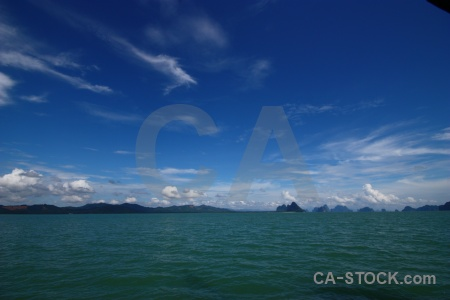 Sky water thailand tropical southeast asia.