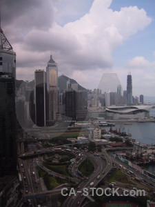 Skyscraper building hong kong.