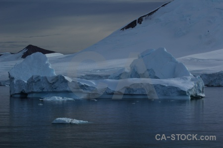 Snow cloud mountain antarctica cruise sky.