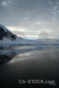Snow day 6 sea reflection ice.