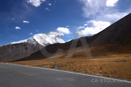 Snow friendship highway plateau east asia himalayan.