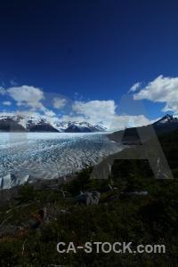 Snow glacier grey chile landscape.