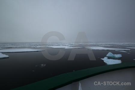 Snow ice fog water antarctica cruise.