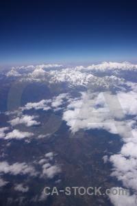 Snow landscape cloud south asia mountain.