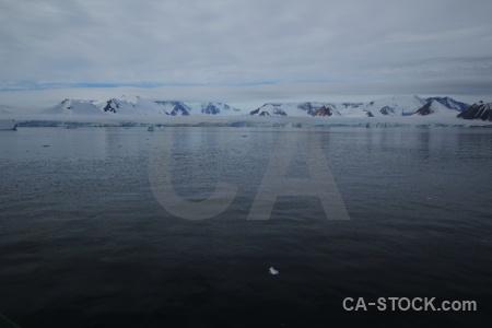 Snow marguerite bay south pole antarctic peninsula cloud.