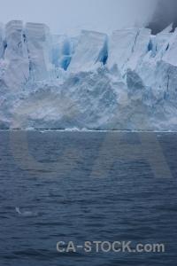 Snow paradise harbour antarctica ice glacier.