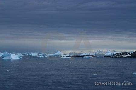 Snow south pole sea ice day 5.