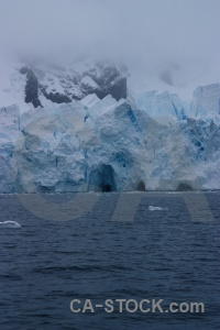 Snow south pole water astudillo glacier day 9.