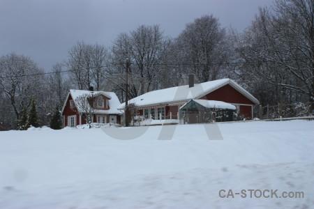 Snow winter.