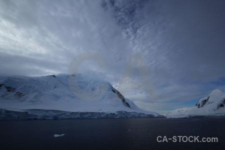 Snowcap ice south pole sea day 6.