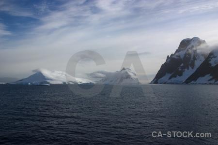 Snowcap snow day 8 south pole antarctic peninsula.