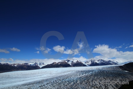 Snowcap snow mountain sky south america.
