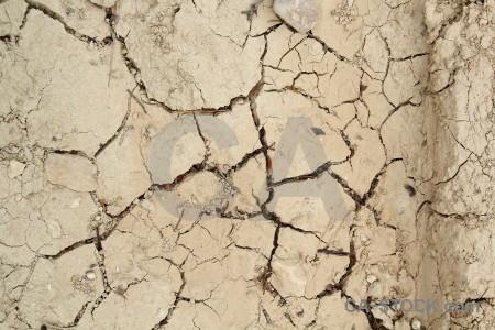 Soil crack texture.