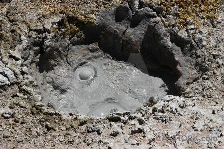 South america altitude rock geyser andes.
