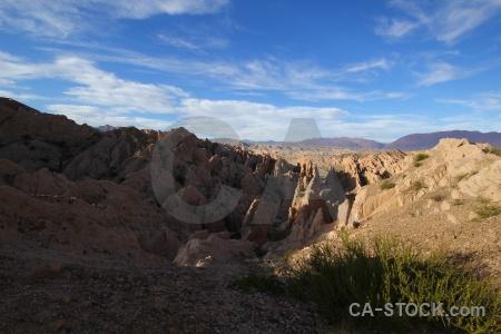 South america argentina bush valley sky.