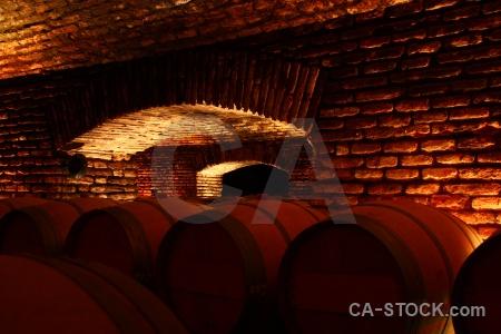South america brick winery vineyard chile.