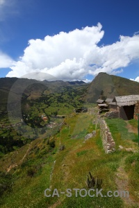 South america bush valley pisac sacred.